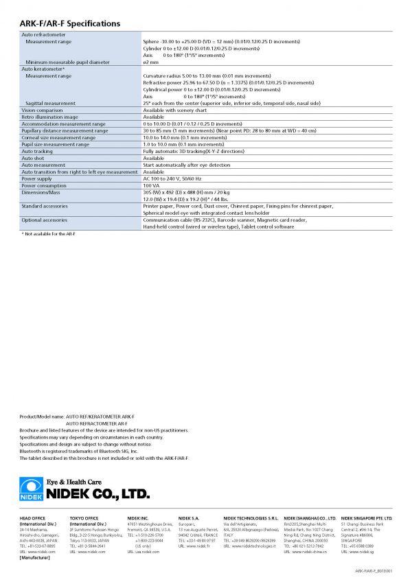 ARK-F AR-F – Auto refractómetro_Page_12